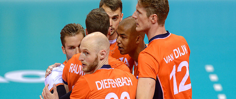 Volleyballers Oranje keren terug in Bankras